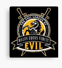 Evil League of Evil Canvas Print