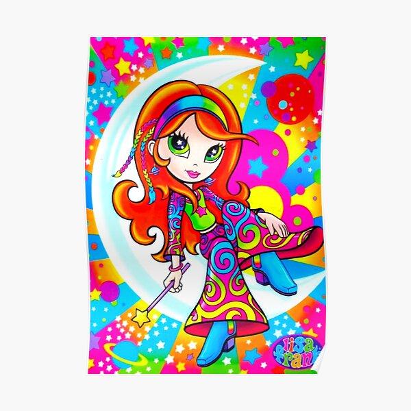 Lisa Frank hippie y2k aesthetics  Poster