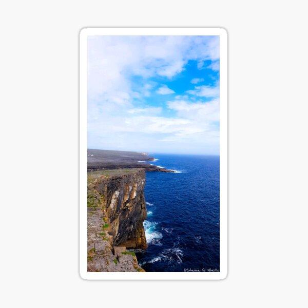 Dun Aonghus Aran Islands Sticker
