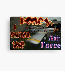 Honey, I Shrunk The Air Force, Tyabb 2012 Canvas Print
