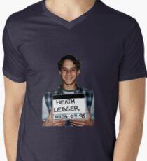 baby Heath Mens V-Neck T-Shirt