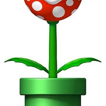 Mario Piranha Plant by LadyStormey