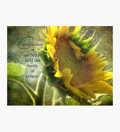 Compassion-inspirational Photographic Print