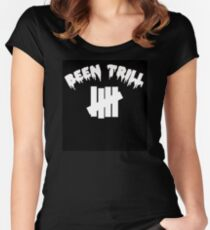 Been Trill Tally Black Women's Fitted Scoop T-Shirt