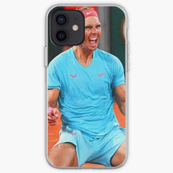 Rafael Nadal celebrating his victory iPhone Soft Case