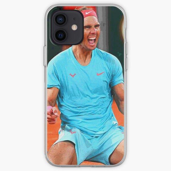 Rafael Nadal célèbre sa victoire Résumé Coque souple iPhone