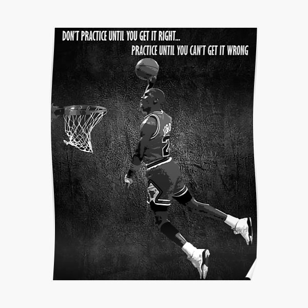 Michael Jordan Motivational Poster