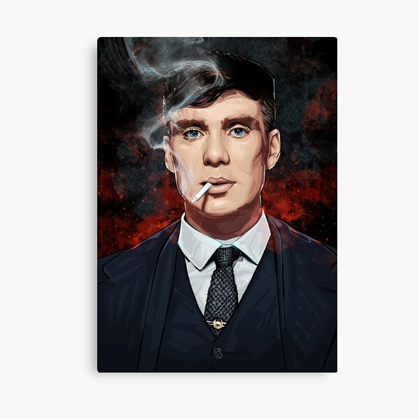 Thomas Shelby Impression sur toile