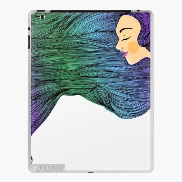 Angel Hair iPad Skin