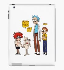 Rick Dialogue iPad Case/Skin