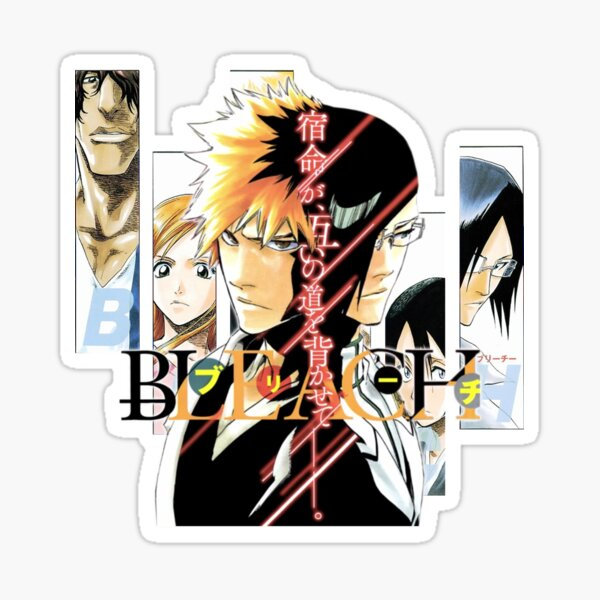 Bleach Japon Manga Anime Sticker
