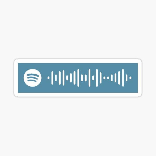 Dermot Kennedy Without Fear Spotify Code Sticker
