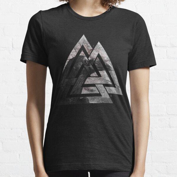 Le corbeau d'Odin T-shirt essentiel