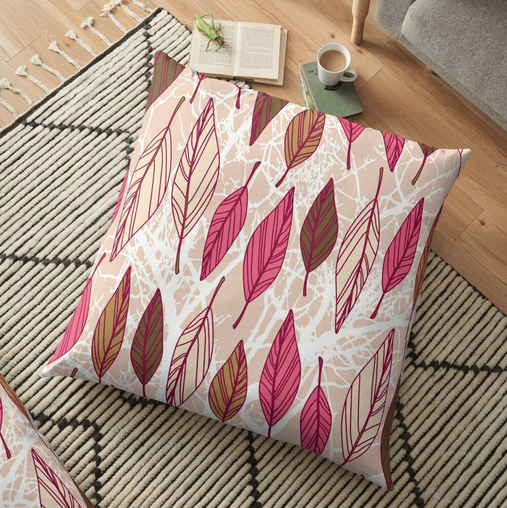 Floating Fall Floor Pillow