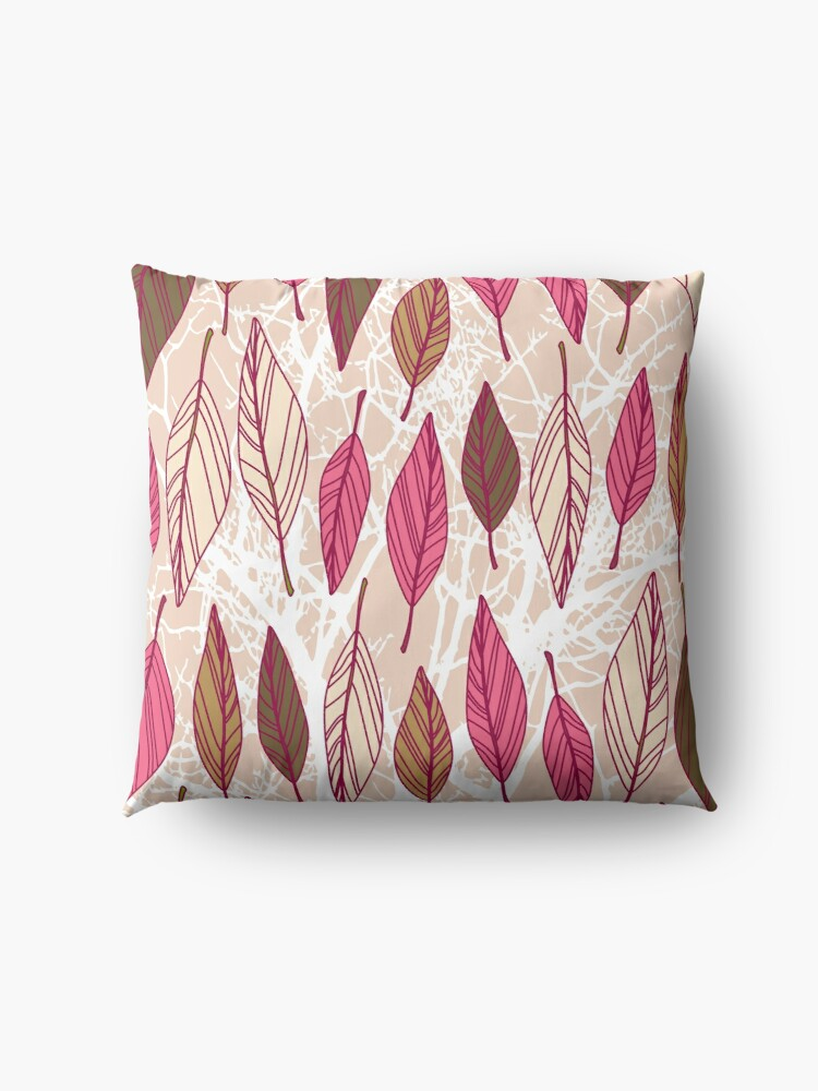 Alternate view of Floating Fall Floor Pillow