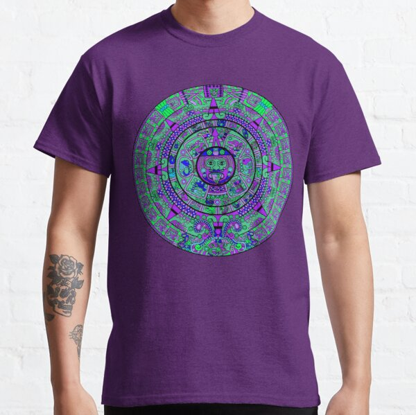 Psychedelic Mayan Calendar Classic T-Shirt