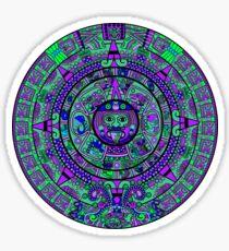 Psychedelic Mayan Calendar Sticker