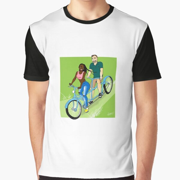 Tamdem Couple Graphic T-Shirt