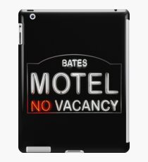 Bates Motel Sign iPad Case/Skin