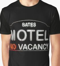 Bates Motel Sign Graphic T-Shirt