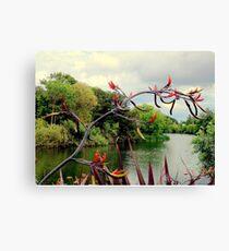 Landscape | The River | Dublin, Ireland Canvas Print