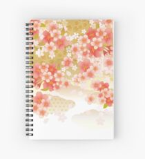 Beautiful cherry blossoms of Japan Spiral Notebook