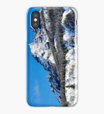 Snow Capped Pinnacles iPhone Case/Skin