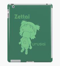 Anime and manga - zettai urusai iPad Case/Skin