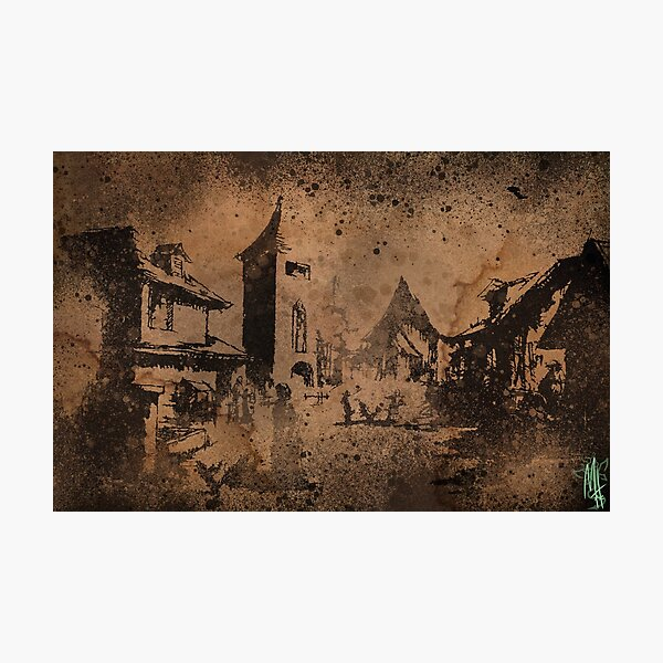 The Village - Plaga Infected Photographic Print