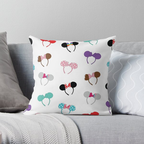 Mouse Ears Pattern Throw Pillow