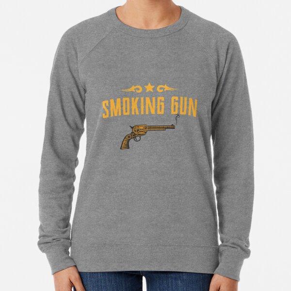 Smoking Gun Design Lightweight Sweatshirt