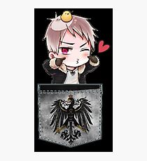 Prussia Pocket Chibi Photographic Print