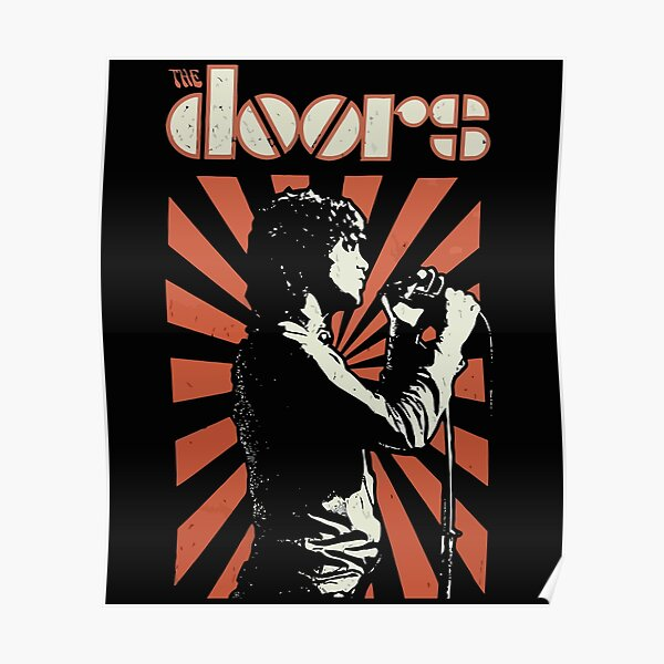 Jim Morrison The Doors Vintage Poster
