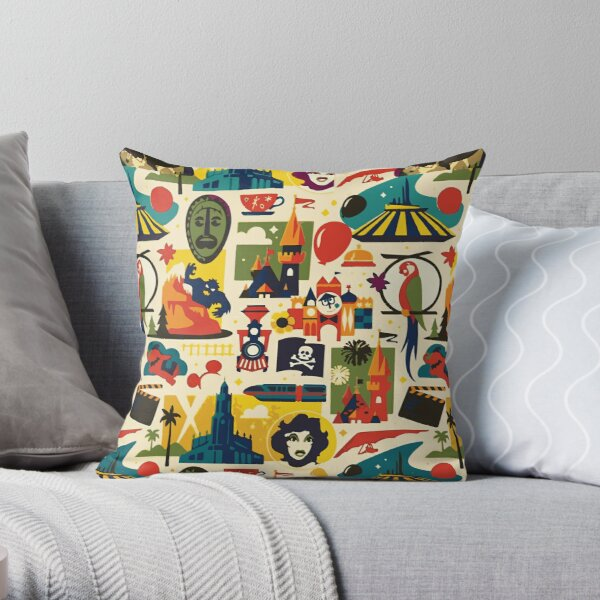 Magical Pattern Throw Pillow