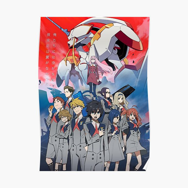 Darling in the Franxx poster Poster