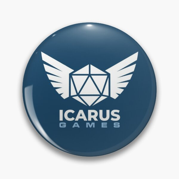 Icarus Games Logo Pin