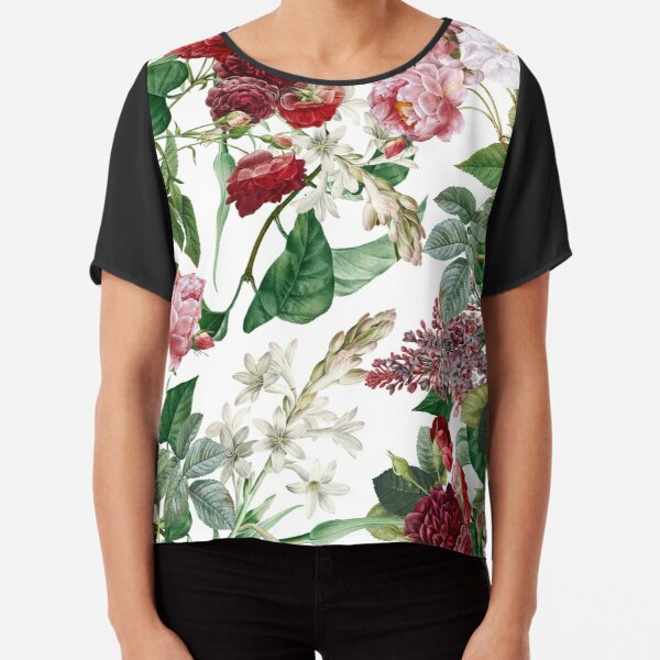 Exotic Garden - Summer II  Chiffon Top