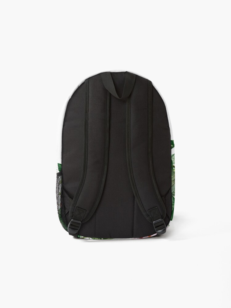 Alternate view of Exotic Garden - Summer II  Backpack