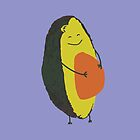 Happy Avocado by Tara Rebuck