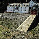 Clovelly Lifeboat Station, Devon. England by hans p olsen