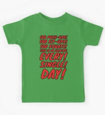 OPM Training Scedule (red) Kids Clothes