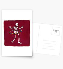 Hula Hooping Postcards