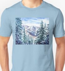 Winter In The Mountains  T-Shirt