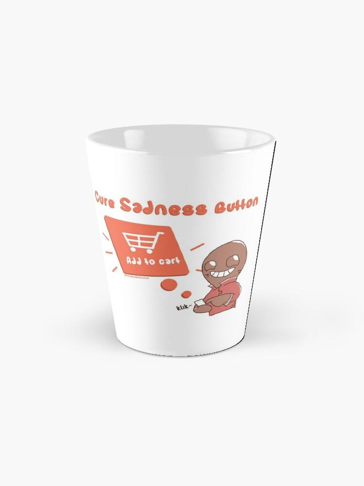 Alternate view of Cure Sadness Mug