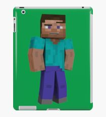 Minecraft Steve iPad Case/Skin