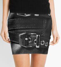 Black Leather Beauty Mini Skirt
