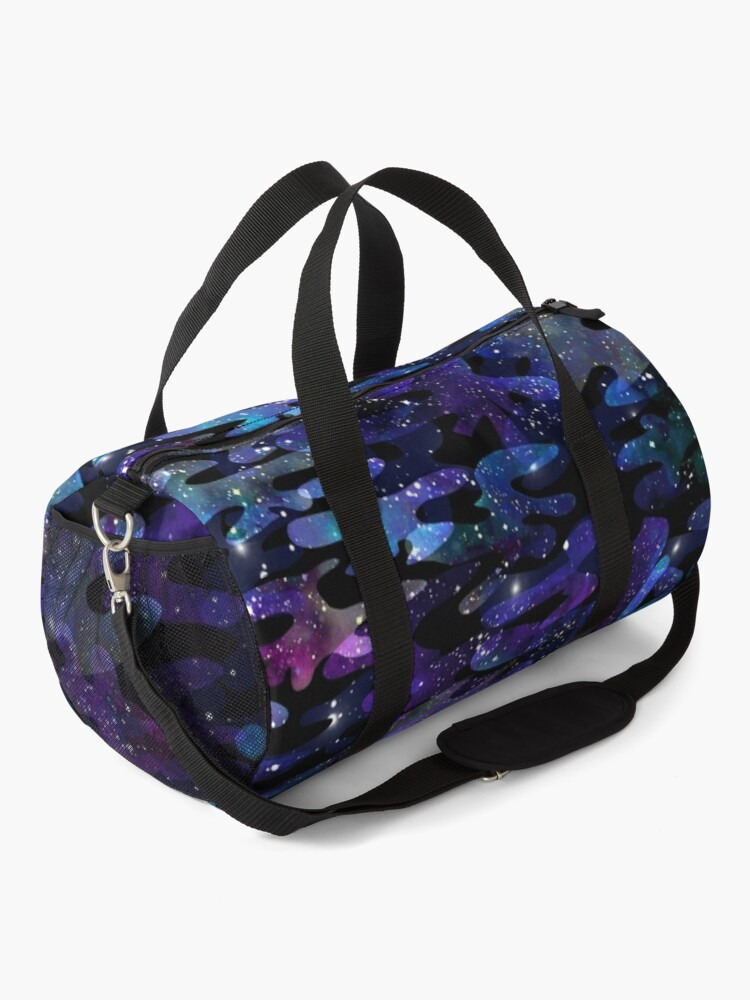 Alternate view of Cosmic Camo Duffle Bag