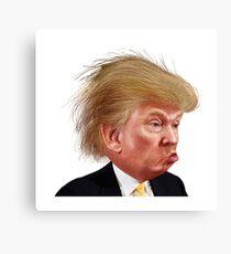 Donald Trump Funny Meme Canvas Print