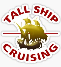 Tall Ship Cruising Adventures Sticker