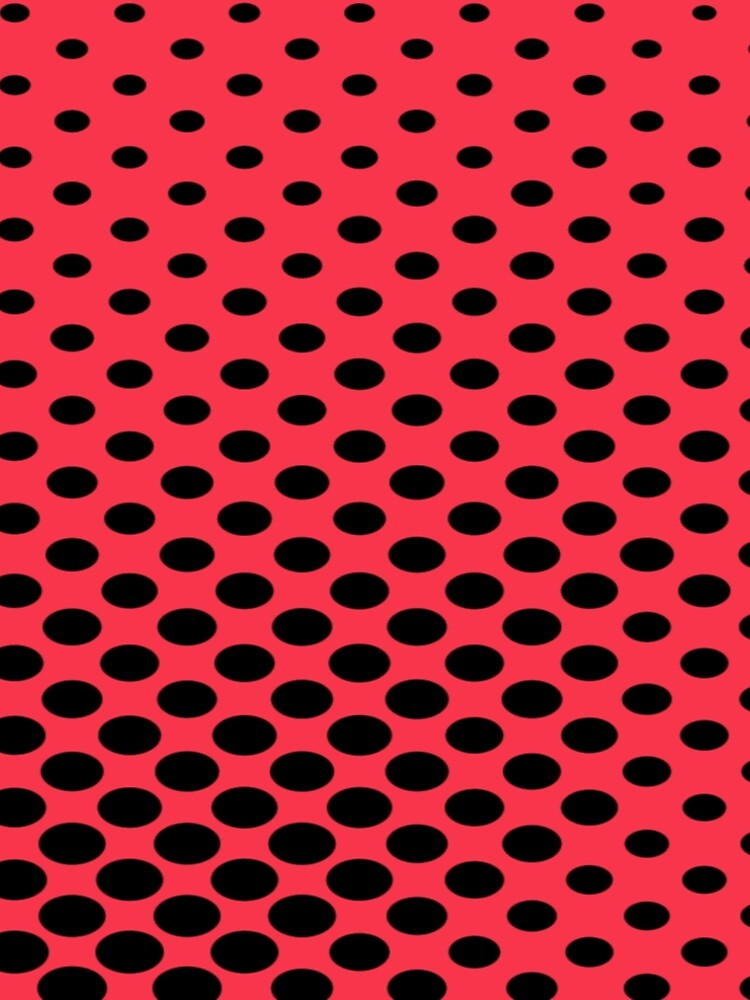 Black and Red Polka Dots by ds-4